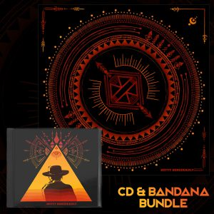 Betty Benedeadly 'From The Mesa' CD + Bandana Bundle