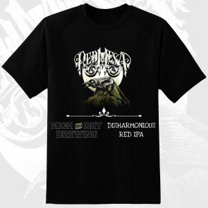 Red Mesa 'Necrow' T-Shirt