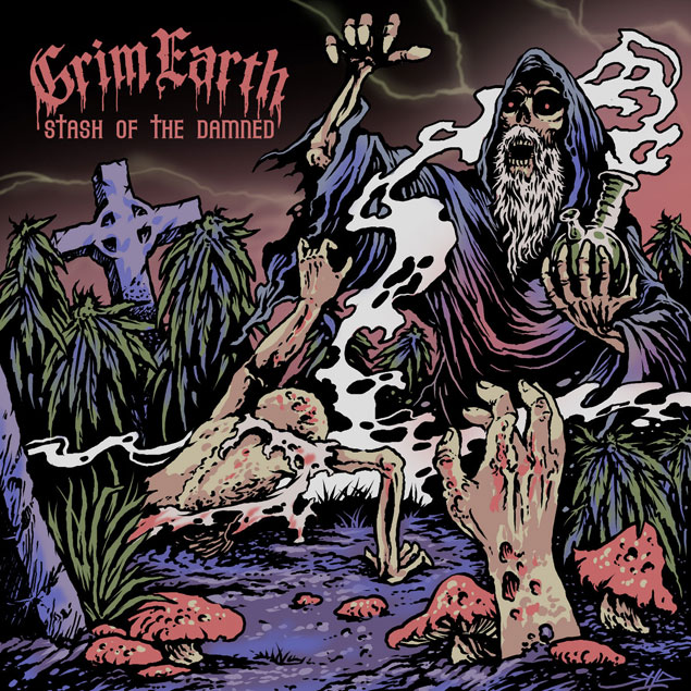 Grim Earth 'Stash Of The Damned'