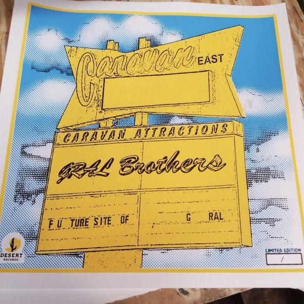 The Gral Brothers 'Caravan East' Print