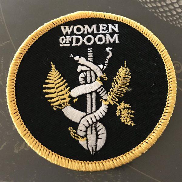 Women Of Doom Patch